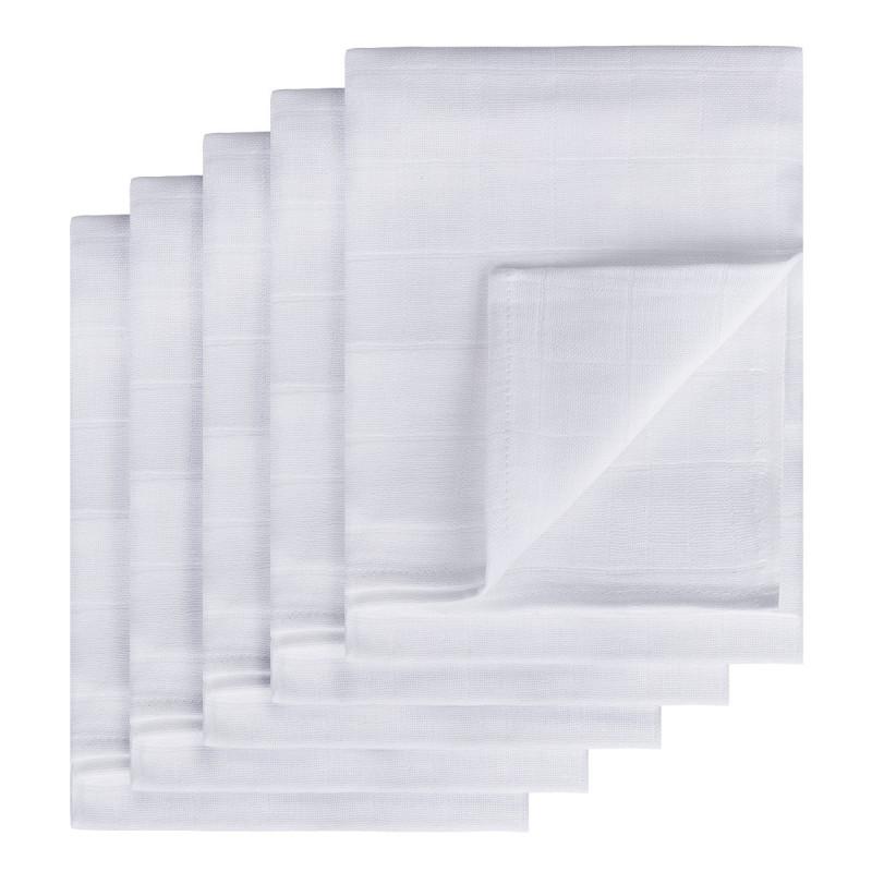 TETRA plienky HIGH QUALITY, biela, 70x70, 5ks