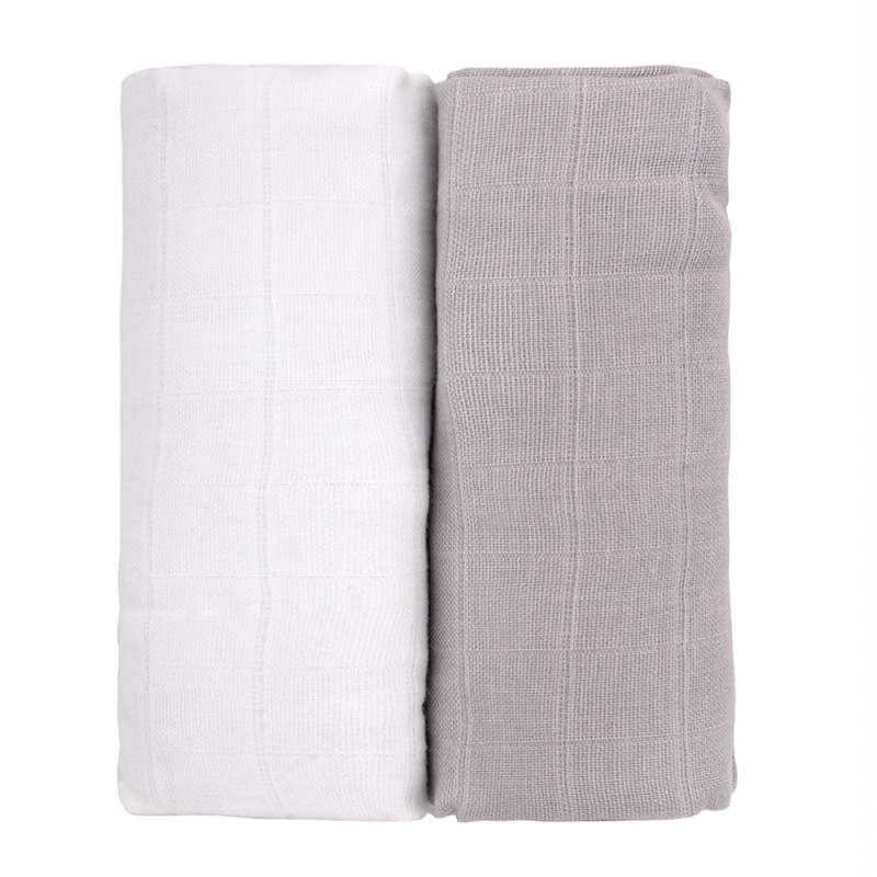 TETRA osušky EXCLUSIVE COLLECTION, white + grey